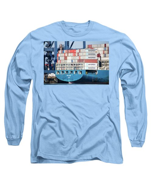 Container Ship Long Sleeve T-Shirt