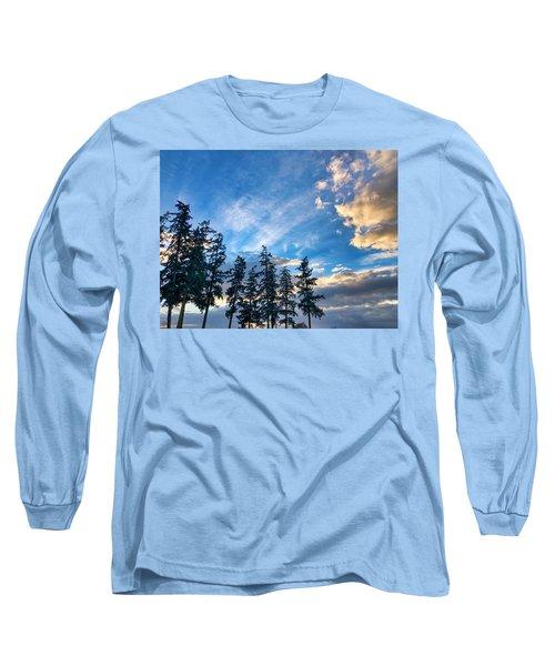 Crisp Skies Long Sleeve T-Shirt