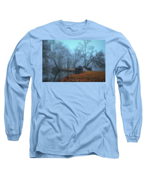 Crossing Into Winter Long Sleeve T-Shirt