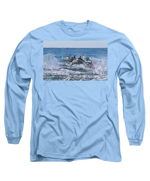 Dancing Dolphins Long Sleeve T-Shirt