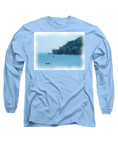 Dartmouth Castle Painting Long Sleeve T-Shirt