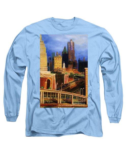 Dawn At City Hall Long Sleeve T-Shirt