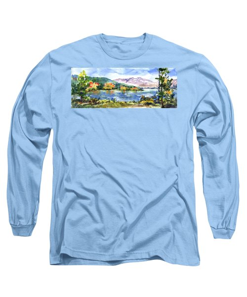 Donner Lake Fisherman Long Sleeve T-Shirt