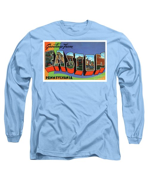 Easton Greetings Long Sleeve T-Shirt