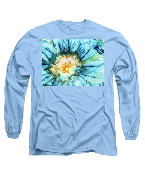 Eco Dyed Cosmos Long Sleeve T-Shirt