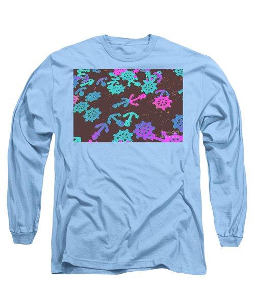 Emblems Of Ocean Adventure Long Sleeve T-Shirt