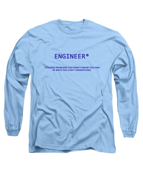 Engineer Long Sleeve T-Shirt