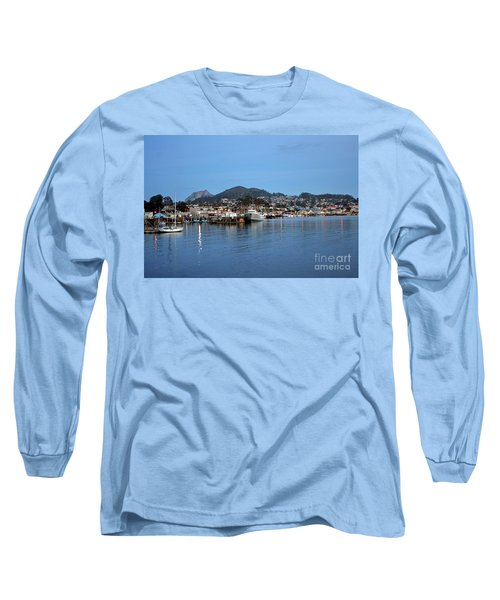Evening In Morro Bay Long Sleeve T-Shirt