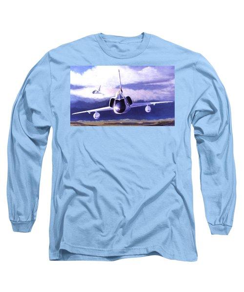 F-106a Head-on Long Sleeve T-Shirt