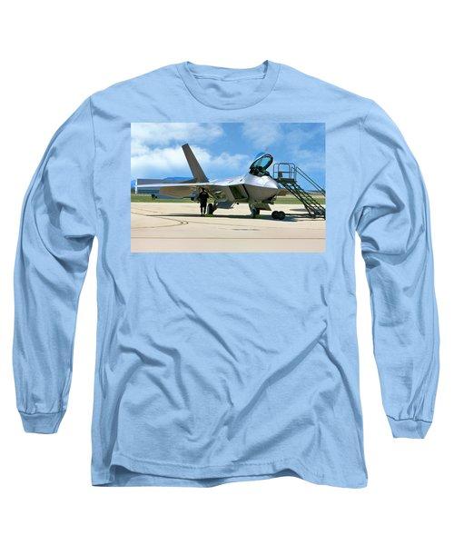 F22 Rapter Long Sleeve T-Shirt
