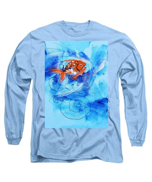 Fake Nemo Fish Long Sleeve T-Shirt