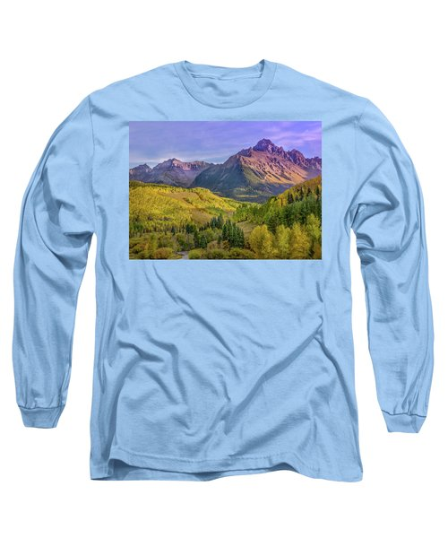Fall Color In The San Juan Mountains Long Sleeve T-Shirt