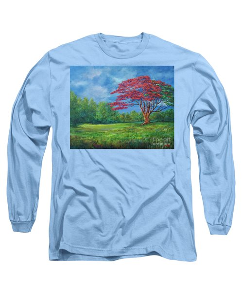 Flame Tree Long Sleeve T-Shirt
