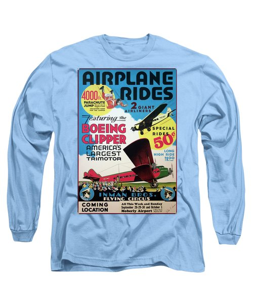 Flying Circus 1929 Long Sleeve T-Shirt