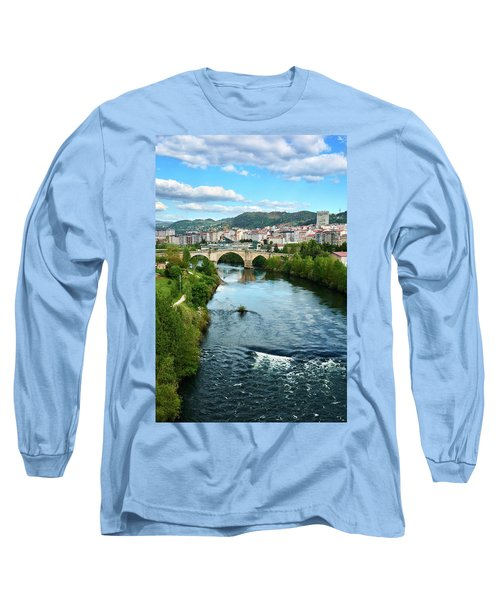 From The Top Of The Millennium Bridge Long Sleeve T-Shirt