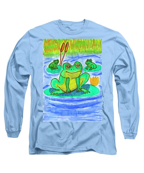Funny Frogs Long Sleeve T-Shirt
