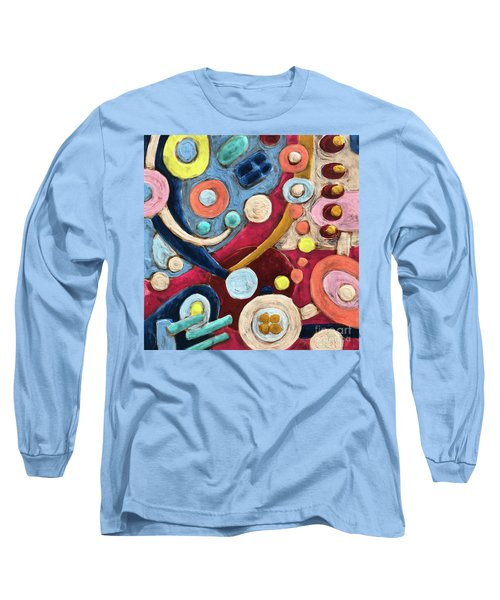 Geometric Abstract 2 Long Sleeve T-Shirt