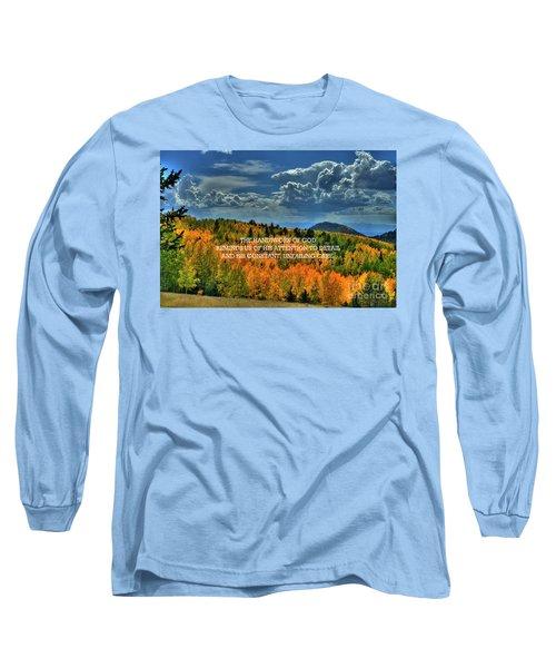 God's Handiwork Long Sleeve T-Shirt