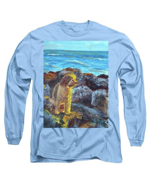 Golden Dog Long Sleeve T-Shirt