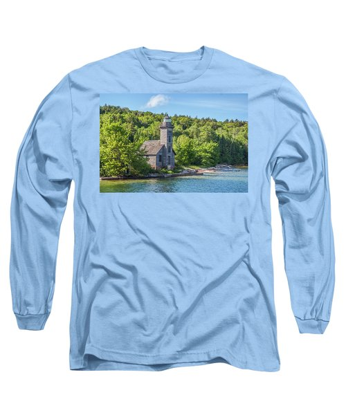 Grand Island East Channel Lighthouse, No. 2 Long Sleeve T-Shirt