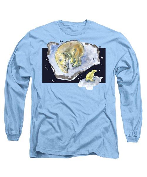 Great Bear Family -  Ursa Major Constellation Long Sleeve T-Shirt