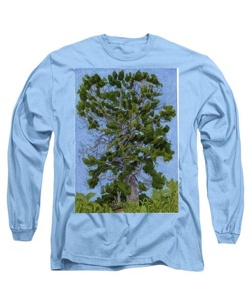 Green Tree, Hot Day Long Sleeve T-Shirt