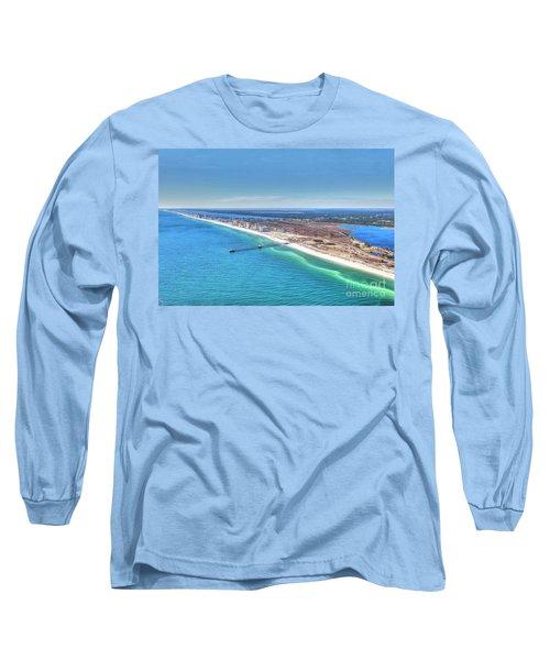 Gsp Pier And Beach Long Sleeve T-Shirt