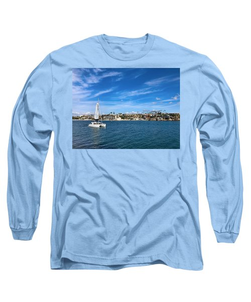 Harbor Sailing Long Sleeve T-Shirt