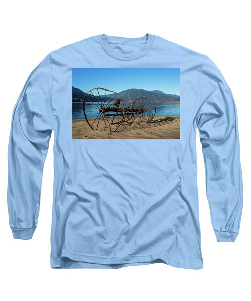 Harrison Lake Near Agassiz Long Sleeve T-Shirt