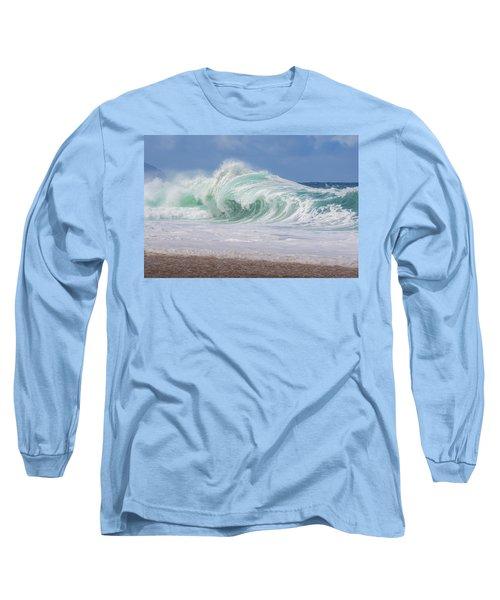 Hawaiian Shorebreak Long Sleeve T-Shirt