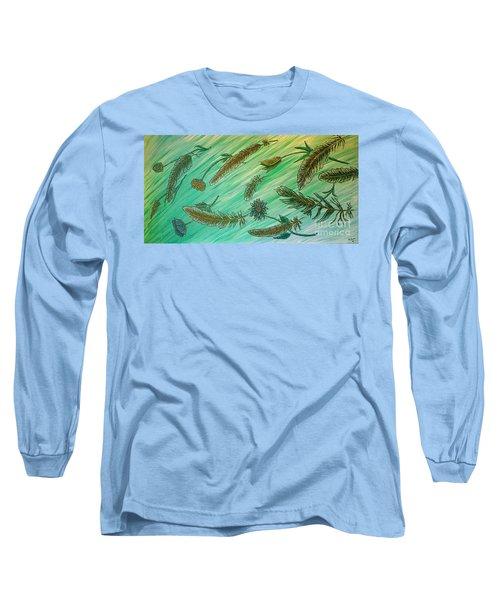 Healing Messages Long Sleeve T-Shirt