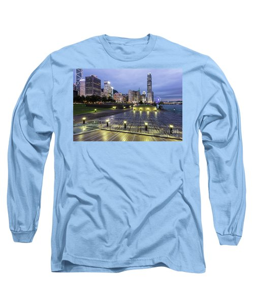 Hong Kong Twilight Long Sleeve T-Shirt