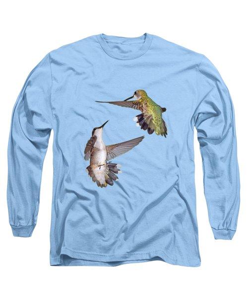Hummingbirds - Defensive Dance Long Sleeve T-Shirt