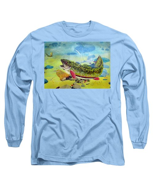 Hungry Trout Long Sleeve T-Shirt