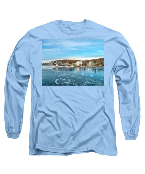 Ice Blue   Long Sleeve T-Shirt