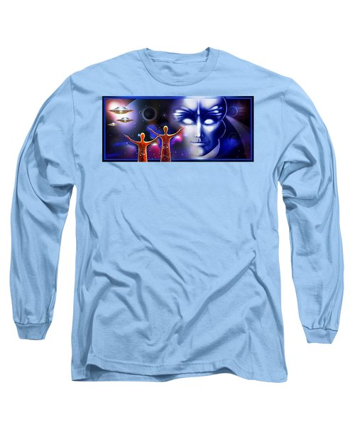 Imagine - What Is Out  There Long Sleeve T-Shirt