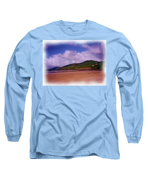 Inch Beach Painting Long Sleeve T-Shirt