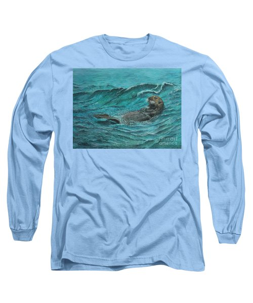 It's My Otter Day Off.....sea Otter Long Sleeve T-Shirt
