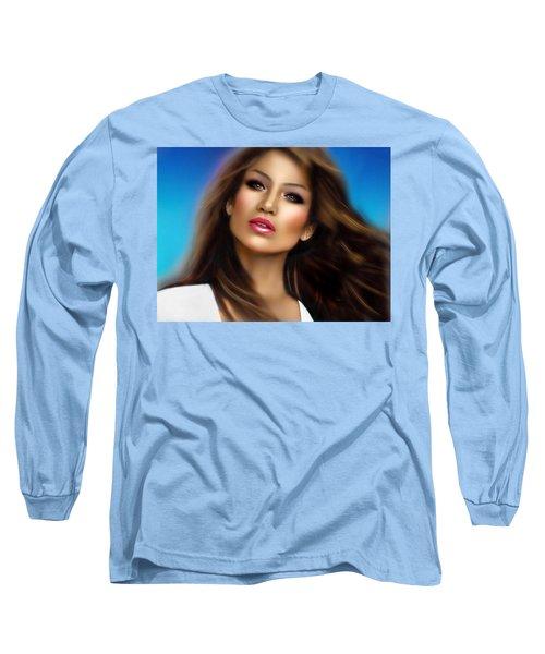 Jennifer Lopez Long Sleeve T-Shirt