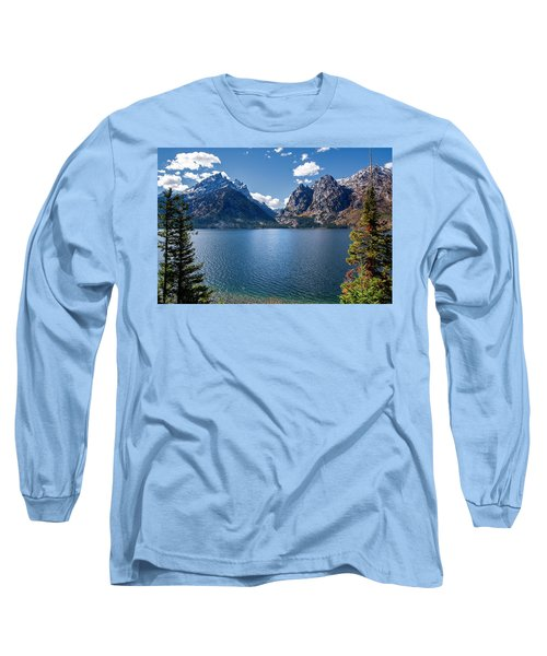 Long Sleeve T-Shirt featuring the photograph Jenny Lake by Scott Read