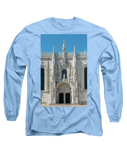 Jeronimos Monastery, Portugal Long Sleeve T-Shirt
