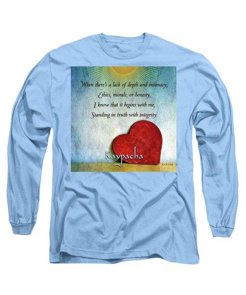 Kaypacha -february 13,2019 Long Sleeve T-Shirt