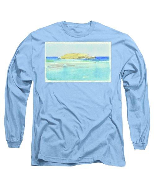 La Tortue, St Barthelemy, 1996_4179, 122x74 Cm, 6,86 Mb Long Sleeve T-Shirt