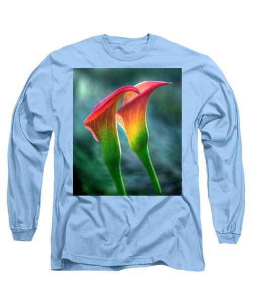 Lilies Long Sleeve T-Shirt