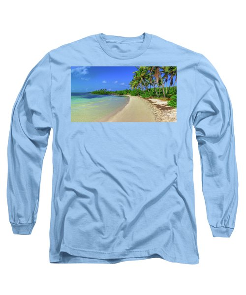Living On An Island Long Sleeve T-Shirt