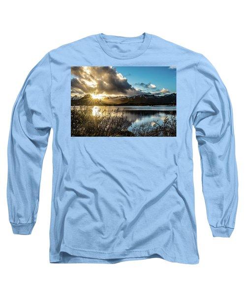 Lofoten Sunset Long Sleeve T-Shirt
