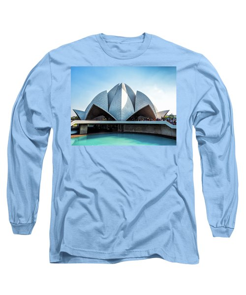 Lotus Temple Long Sleeve T-Shirt