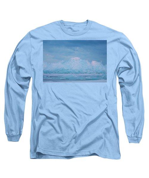 Mackinaw City Ice Formations 2161802 Long Sleeve T-Shirt
