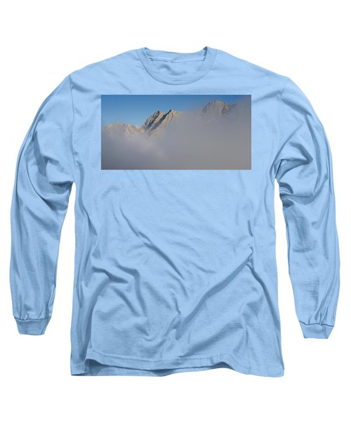 Marbore Behind The Clouds Long Sleeve T-Shirt