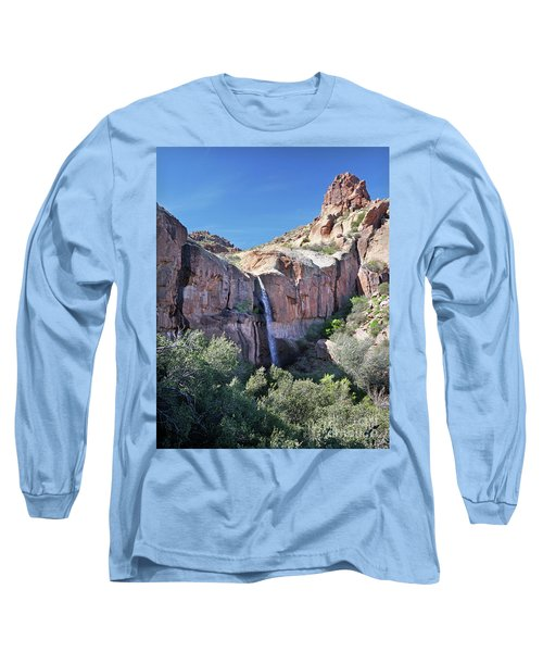 Massacre Trail Waterfall Long Sleeve T-Shirt